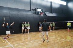 綜合體育館-羽球社練習